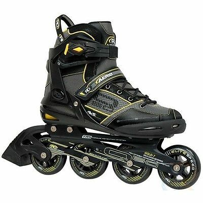 Mens Roller Derby Aerio Q-60.q60.inline Skates.black.brand New In Box.bargain!