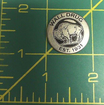 Wall Drug Collector Metal Token est 1931 Free Ice Water sign / buffalo token