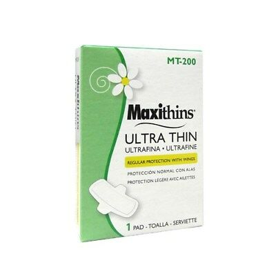 Vending Machine Size -- HOS MT200 Maxithins Ultra Thin Maxi With Wings (200/cs)