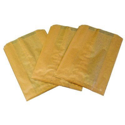 OSHA Non-Leaking Safety Bags -- HOSP KL Waxed Paper Sanisacs Tampon Bags (500)