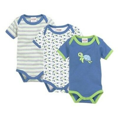 SCHNIZLER Body Suit 1/4-Arm Pack of 3 Turtle Size Selection