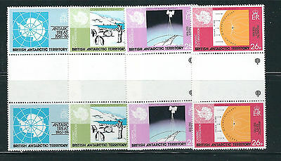 BRITISH ANTARCTIC TERRITORY BAT 1981 20th Anniversary of Terrirory MNH gutters
