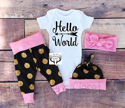 81c87d253e606 BABY GIRL,BABY GIRL Coming Home Outfit,Baby,Newborn Girl Coming Home Outfit,