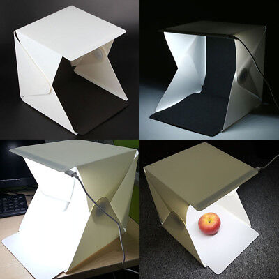 Photo Studio Photography Backdrop LED Lightroom Light Cube Tent Boxes Charming