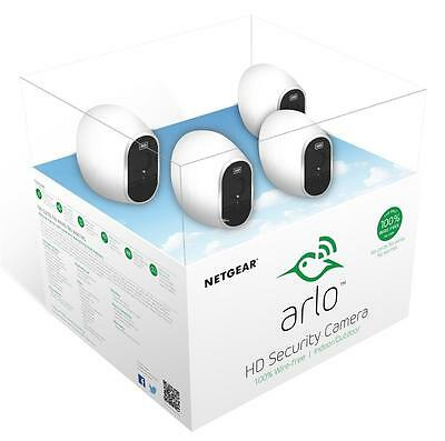 Netgear Arlo Smart Home Wireless CCTV Security System Cameras 1 - 4 Cameras