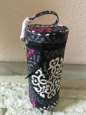 Vera Bradley Baby Bottle Caddy Canterberry Magenta NWTS
