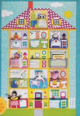 Dollhouse - fun pieced & applique quilt PATTERN from Amy Bradley - 2 sizes