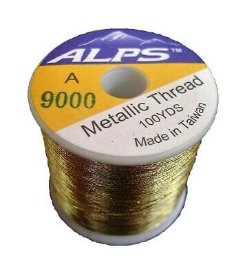 Alps 100yds of Metallic Pale Gold Rod Wrapping Thread-Size A (0.15mm) Thread
