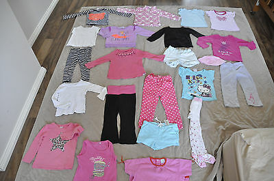 baby girl clothes size 2 22 items + 2 items gratis bulk lot