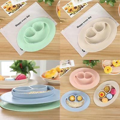 Cute Mat Baby Kids Table Food Tray Placemat Plate Bowl Dish