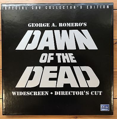 dawn of the dead ntsc 3 x laserdisc box set