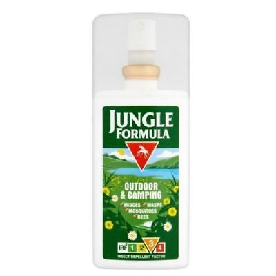 Jungle Formula Outdoor & Camping Pump Spray 90ml IRF 3  1 2 3 6 12 Packs