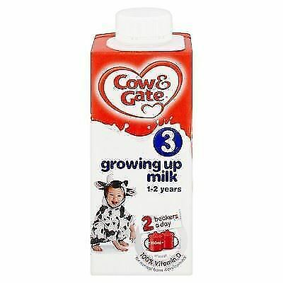 Cow & Gate Complete Care Growing Up Milk Toddlers 1yr+ 200ml 1 2 3 6 12 Packs