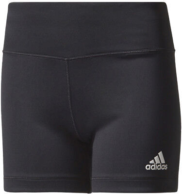 adidas Junior Girls Training Shorts - Black