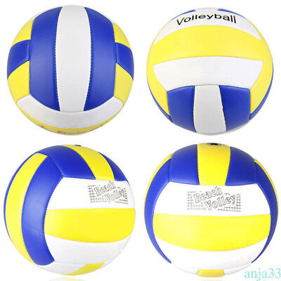Official Size 5 PU Volleyball Handball Beach Game Match Ball Training Balls AH2