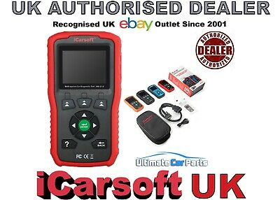 iCarsoft i906 Volvo SAAB OBDII Airbag Abs Service Engine Diagnostic Scanner UK