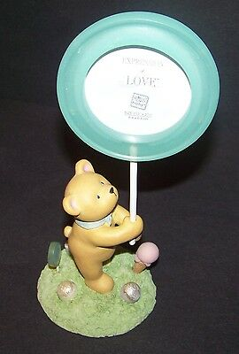 Russ Berrie Teddy Bear Lollipop Photo Frame Expressions of Love Picture