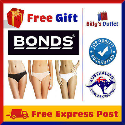 4/8 Pack Bonds Womens Ladies Cotton Hipster Bikini Plus Size Undies Underwear