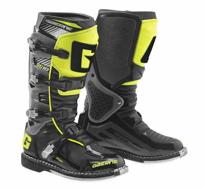 Gaerne SG-10 Boots Black/Yellow Premium MX Off-Road All Sizes