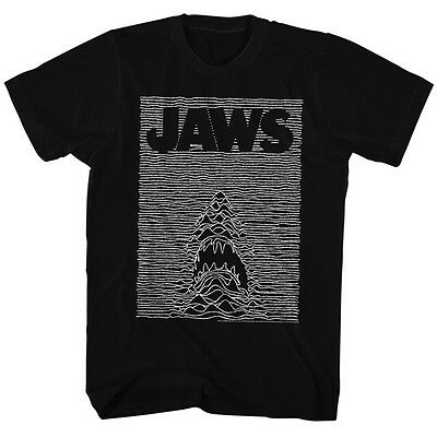Jaws Licensed T-Shirt Movie Mens New JAW DIVISION Black Cotton Sizes SM - 5XL