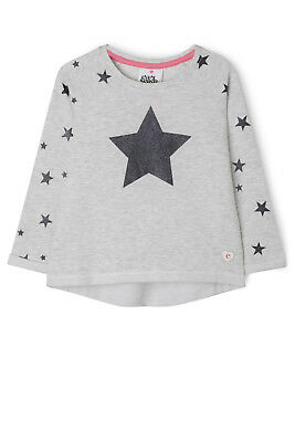 NEW Eve's Sister Star Crew Grey Marle