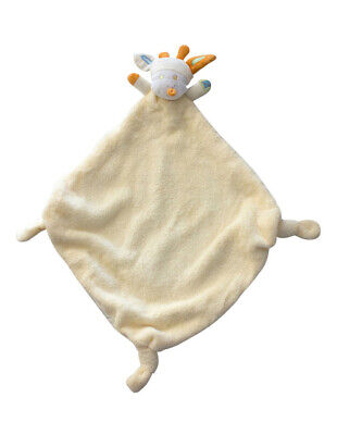 NEW Bubba Blue Lemon Giraffe Security Blanket Cream