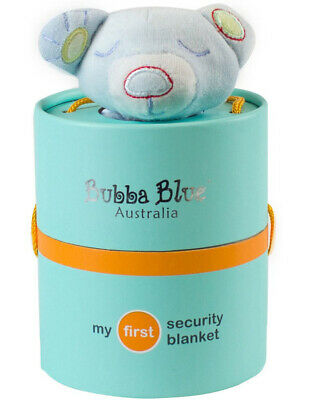NEW Bubba Blue Blue Bear Security Blanket