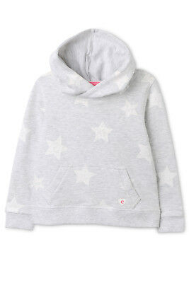 NEW Eve's Sister Star Hoody Grey Marle