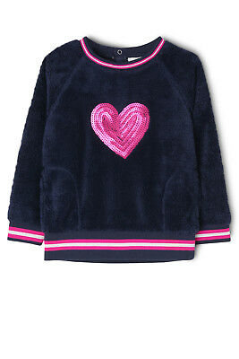 NEW Jack & Milly Babs Fluffy Sweat Navy
