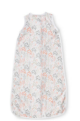 NEW Snugtime Forest Print Bamboo Cosi Bag - Coral