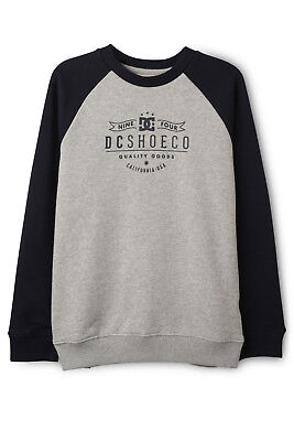 NEW DC Flammable Raglan Sweat Top Indigo