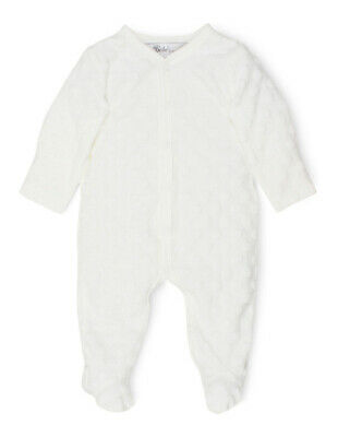 NEW Bebe Circles Coverall Vanilla