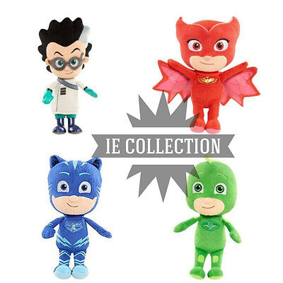 PJ MASK SUPER PIGIAMINI PELUCHE PERSONAGGI Connor Amaya Greg Romeo Pyjamasques