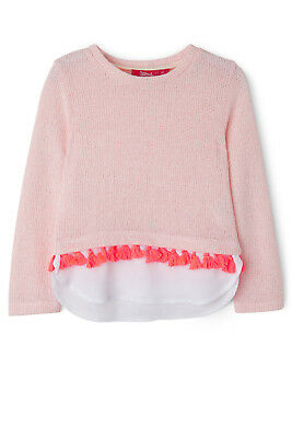NEW Sprout Knit Sweat Top Lt Pink