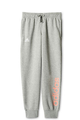 NEW Adidas Young Girls Linear Pant Grey