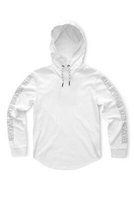 NEW Indie Kids by Industrie Long Sleeve Over Head Hoodie 8-14 White