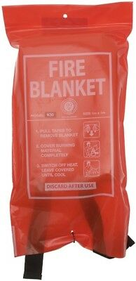 Classic Fire Blanket - 1000 x 1000mm FFIRE40R Signs & Labels New