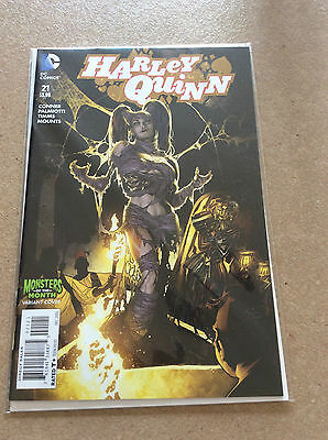 Harley Quinn #21 Monsters Of The Month Variant Cover  Nmt  1St Print  New 52 Dc