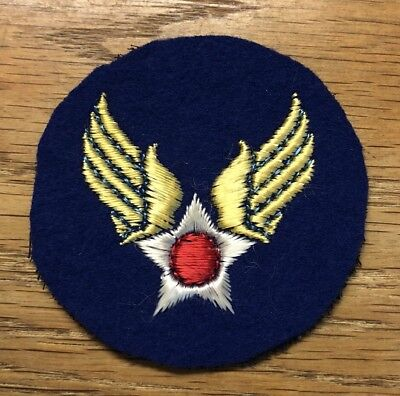 Original Wwii - U.s. Army Air Force Patch - Wool