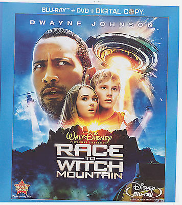DISNEYS RACE TO WITCH MOUNTAIN (Blu-ray Only, 2009)