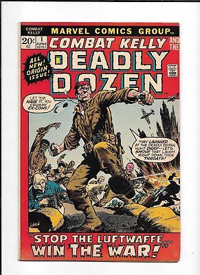 Combat Kelly And The Deadly Dozen #1 ==> Fn Bronze Age War Drama 1972