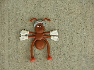 "Heinz Ketchup Ant 4 1/2"" Bendy  Advertising Figure ( NEW OLD STOCK )"