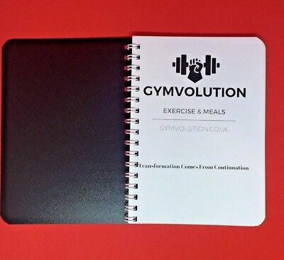 Gym Logbook Workout Diary Exercise And Meals Journal
