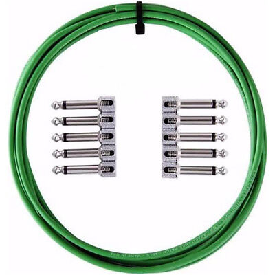 Lava Cable Standard Series Tightrope Solder-Free Kit (Green) +Picks
