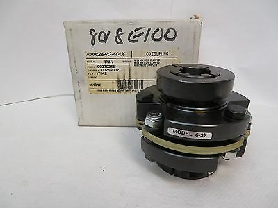 New Zero-Max 6A37C Cd Composite Disc Coupling 30X25Mm Bore D568202