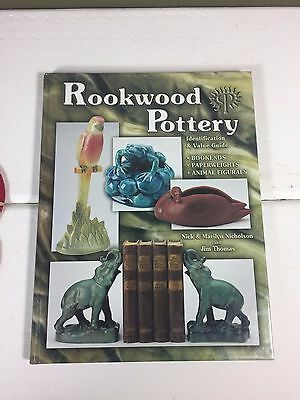 Rookwood Pottery Collectors Identification Guide Hardcover, Reference Book 2002