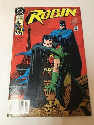 Robin #1 NM  (Jan 1991, DC) Big Bad World Vol 1 with Poster intact