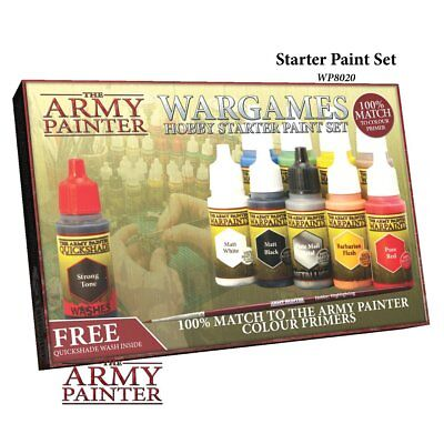 The Army Painter Wargames Hobby Starter Paint Set 2017 (F1I)