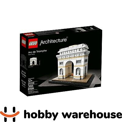 LEGO 21036 Architecture Arc de Triomphe (BRAND NEW SEALED)