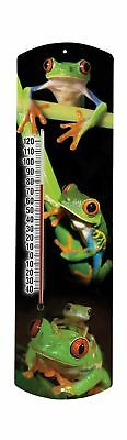 Heritage America by MORCO 375FROG Frog Outdoor or Indoor Thermometer 2... NO TAX